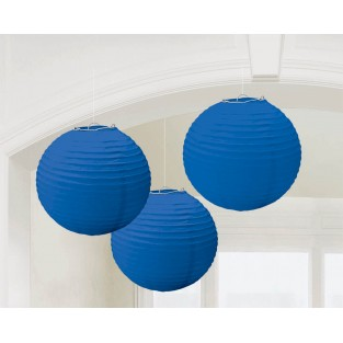 Lantern-Royal Blue-3 pack