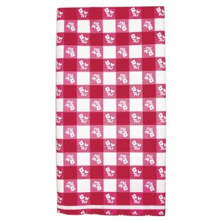Tablecover-Plastic-Gingham-Red-54x108