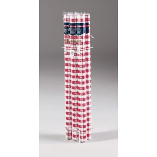 Banquet Roll-Gingham-Red