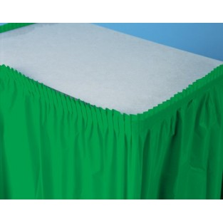 Tableskirt-Emerald Green