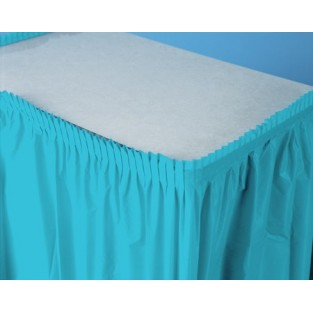 Tableskirt-Bermuda Blue