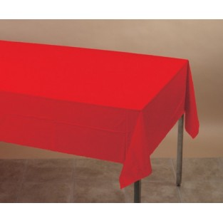 Tablecover-Plastic-Classic Red-54x108