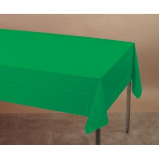 Tablecover-Plastic-Emerald Green-54x108