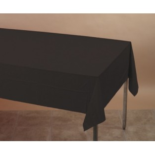 Tablecover-Plastic-Black Velvet-54x108