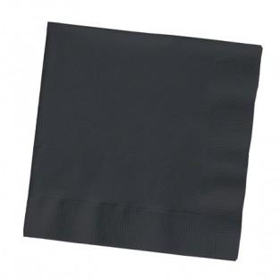 Napkin-Lunch-Black Velvet