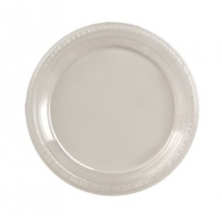 Plate-Plastic-Clear-9 inch-20 count
