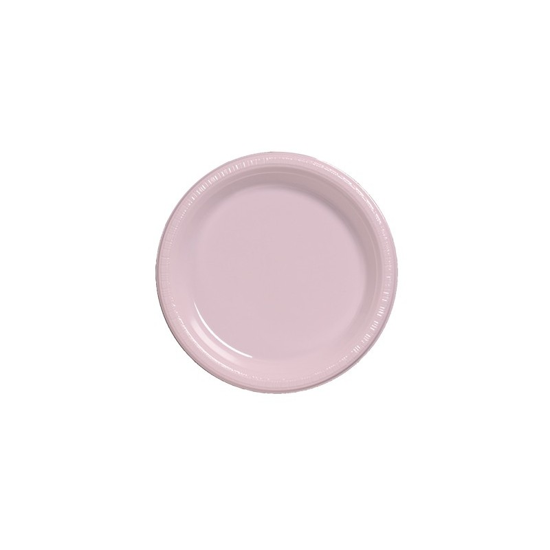 Plate-Plastic-Classic Pink-9 inch-20 count  sc 1 st  If Itu0027s Paper & Plate-Plastic-Classic Pink-9 inch-20 count - If Its Paper