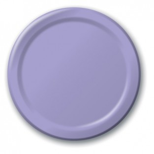 Plate-Paper-Lavender-9 inch-24 count