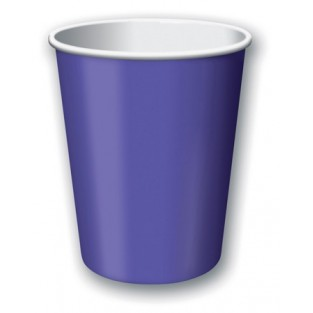 Cup-Purple-9 ounce-24 pack