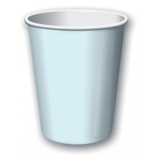 Cup-Pastel Blue-9 ounce-24 pack