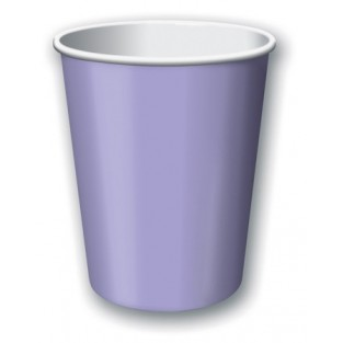 Cup-Luscious Lavender-9 ounce-24 pack