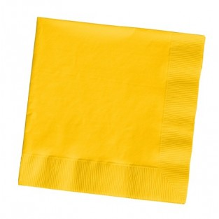 Napkin-Lunch-School Bus Yellow-50 count