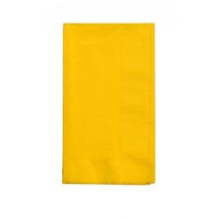 Napkin-Dinner-School Bus Yellow-50 count