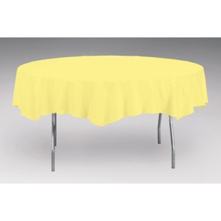 Tablecover-Plastic-Mimosa-Round-82 inch