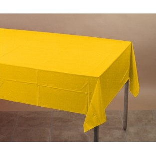Tablecover-Paper-School Bus Yellow-54x108