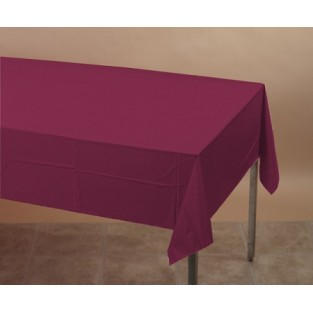 Tablecover-Plastic-Burgundy-54x108