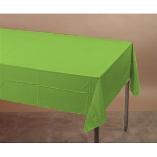 Tablecover-Plastic-Fresh Lime-54x108