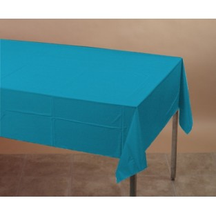 Tablecover-Plastic-Turquoise-54x108