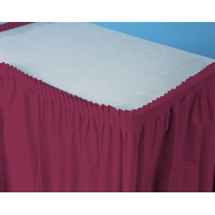 Tableskirt-Burgundy
