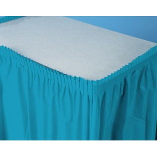 Tableskirt-Turquoise