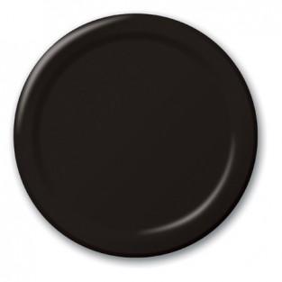 Plate-Paper-Black Velvet-7 inch-24 count