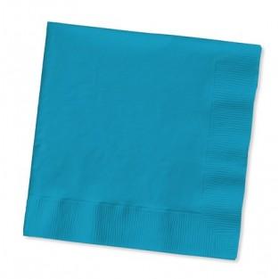 Napkin-Beverage-Turquoise-50 count