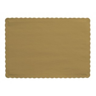 Placemat-Glittering Gold-50 count