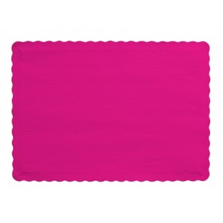 Placemat-Hot Magenta-50 count