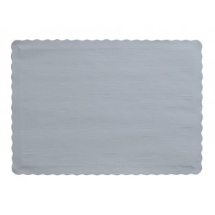 Placemat-Shimmering Silver-50 count