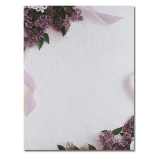 Letterhead - Lilacs and Lace