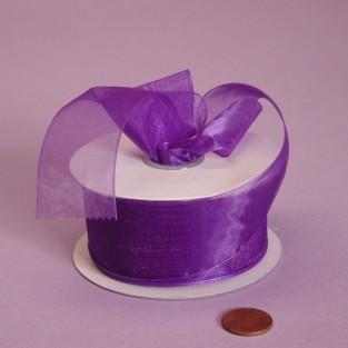 Ribbon - Sheer - 7/8inx25yd - Purple
