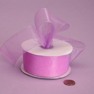 Ribbon - Sheer - 7/8inx25yd - Orchid