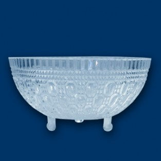 Bowl - Footed - 1 quart