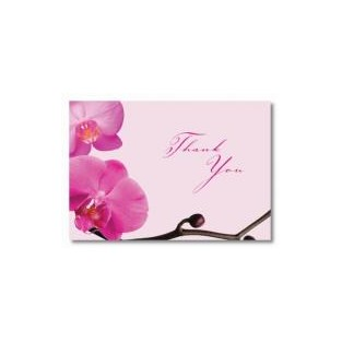 Thank You - Pink Orchids - 24 ct
