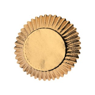 Baking Cup - Mini - Gold - 36ct