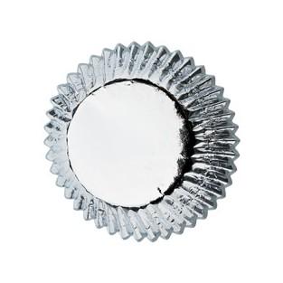 Baking Cups-Mini-Silver - 36 ct