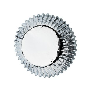 Baking Cups-Standard-Silver - 24 ct