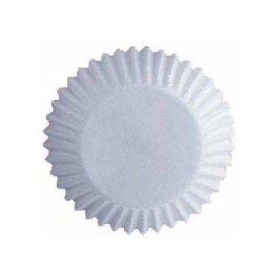Baking Cups - Standard - White - 75 ct