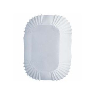 Baking Cups - Petite Loaf - White