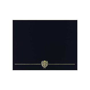 Certificate - Cover - Black - 5 ct