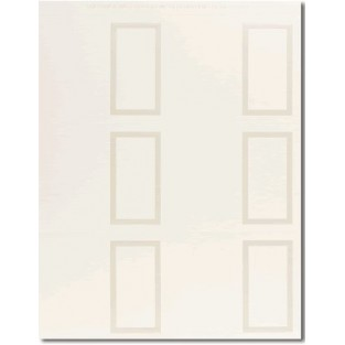 Placecard - Pearl Ivory Border - 60 ct