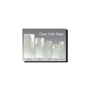 Cellophane Bag - Clear - 4x2.5x9.5