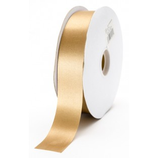 Ribbon - Satin - 1 3/8in - 100yd - Champagne