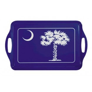 Tray - 18.5x11.5 - Palmetto Tree - Acrylic