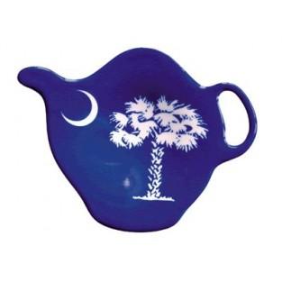 Tea Bag Holder - Palmetto Tree - Acrylic
