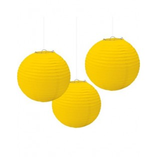 Lantern-Yellow-3 pack - 9.5""