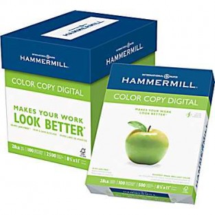 Hammermill, 80lb Cover, 8.5x11, Color Copy, White