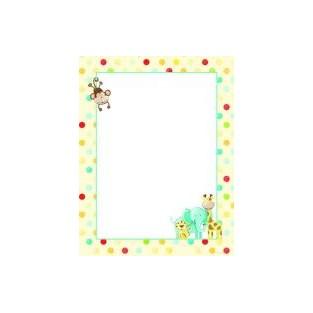 letterhead baby zoo animals 85x11 80pk
