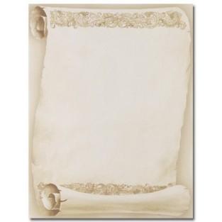 Letterhead - Florentine Scroll - 8.5x11 - 100pk