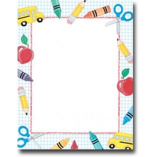 Letterhead - School Stuff - 8.5x11 - 100pk